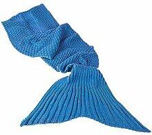 Monsterzeug Meerjungfrau Decke, Meerjungfrauflosse