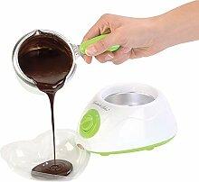 Monsterzeug Schokofondue, Schokoladen Fondue,