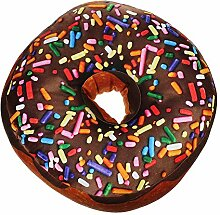 Monsterzeug Sitzkissen Donut XXL Kissen, Doughnut