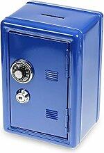 Monsterzeug Spardose Mini Tresor - blau,