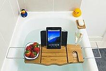 Monsuri – Badewannen-Ablage Buch iPad Tablet