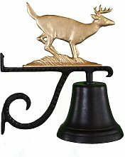 Montague Metall Produkte Glocke mit Gold Buck