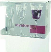 Montana 37998 6-er Set Rotwein 360 ml, Avalon