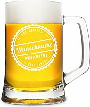 Montana Bierkrug 0,5L Individuelle Gravur Geschenk