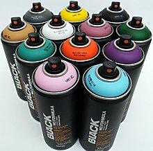 Montana Black 400ml ergänzenden Farben Set
