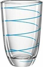 montana-Glas Glas jolly Blau 290 ml, Glas