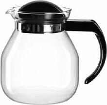 montana-Glas Teekanne :content Schwarz 950 ml