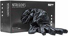 Montana Handschuhe Nitril Gloves 100er Box black, M