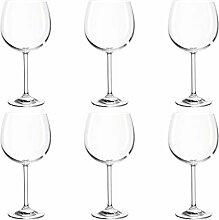 montana:: :Pure Bordeauxglas, 6er Set,