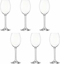 montana:: :Pure Weißweinglas, 6er Set,