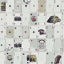 Monte Carlo Karten Tapete (98241)