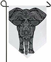 MONTOJ Awesome Tierstamm Elefant Home Sweet Home