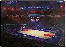 MONTOJ Basketball Court Schuhe Schaber Fußmatte