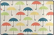MONTOJ Farbiger Regenschirm-Schuhabstreifer für