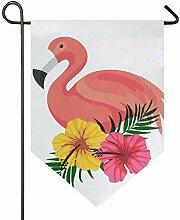 MONTOJ Flamingo Baby Home Sweet Home Garten Flagge