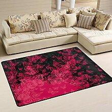 MONTOJ Fußmatte für Wohnzimmer, Schlafzimmer,