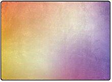 MONTOJ Fußmatte mit leuchtenden Farben, leicht