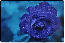 MONTOJ Fußmatte mit schönem Blumenmuster,