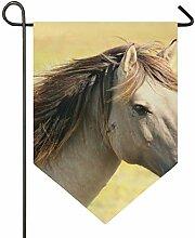 MONTOJ, graues Pferd, rund, für Zuhause, süßes