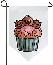 MONTOJ, gruselige Halloween-Cupcake-Dekoration
