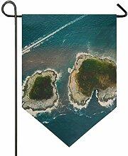 MONTOJ Inseln des Meeres Home Sweet Home Garten