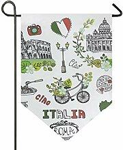 MONTOJ Italien berühmte Landmarks Home Sweet Home