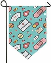 MONTOJ Medizinschrank Pillen Home Sweet Home