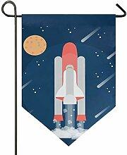 MONTOJ Rocket Launching Home Sweet Home Garten