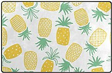 Montoj Schuhabstreifer mit Cartoon-Ananas-Motiv,