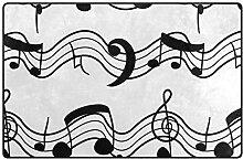MONTOJ Schuhabstreifer mit Musiknoten-Motiv,