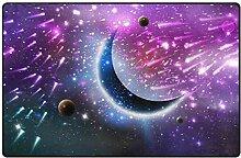 MONTOJ Space Moon Schuhkratzer Teppich für