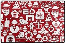 MONTOJ süßer Weihnachtsstern Weihnachtsmuster
