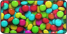 MONTOJ-Teppich, bunt, Regenbogenfarben, Fußmatten