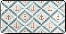 MONTOJ Teppich mit Anker-Form und Linieneinlage
