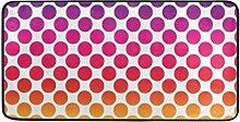 MONTOJ Teppich mit bunten Punkten, für Innen- und