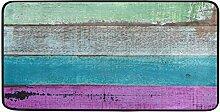 MONTOJ Teppich mit farbigem Holzbrett, für Innen-