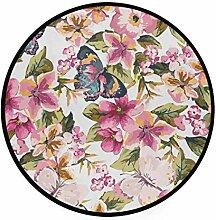 MONTOJ Teppich mit Schmetterlingen und