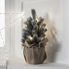 Montreal 8er LED Mini Tannenbaum warmweiß Timer