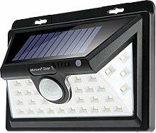monzana Außenleuchte Solar | 34LED | 63 Lumen | 4