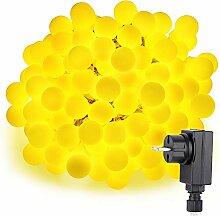 Moobibear 100 LED 10M Kugel Lichterkette, 8