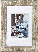 Mood Holzrahmen, 20x30 cm, kalkweiss