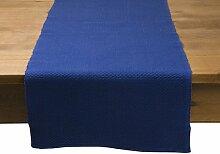 Mood Oliver Tischläufer, Farbe: Blau