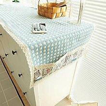 MOOMDDY Tischläufer, Handgewebte Tischdecke