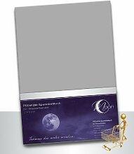 Moon Wasserbett Spannbettlaken XXL Line Silver