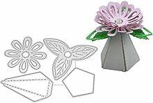 Moonbrid Blumen Metall Cutting Dies, Metall