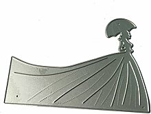 Moonbrid Frau Abdeckung Cutting Dies, Metall