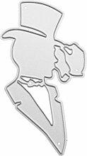 Moonbrid Gentleman Cutting Dies, Metall