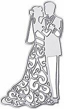 Moonbrid Hochzeit Cutting Dies, Metall