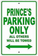 Moonluna Blechschild mit Aufschrift Prince's