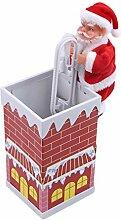 MOONQING Weihnachten Weihnachtsmann Elektrische